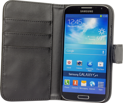 iZound Wallet Case Samsung Galaxy S4 Black