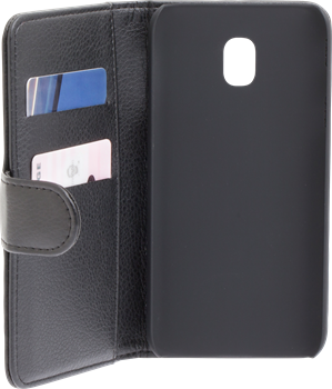 iZound Leather Wallet Case Samsung Galaxy J3 (2017) Black