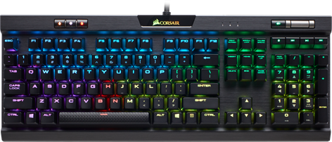 Corsair Gaming K70 RGB MK.2 RapidFire MX Speed