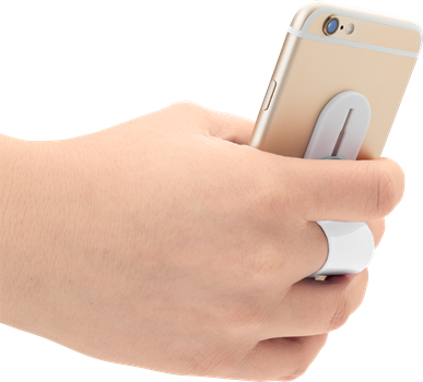 iZound Phone Finger Holder White