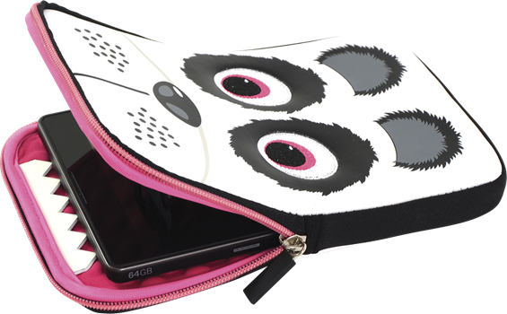 "Tab Zoo Tablet Sleeve Panda 7-8"" universal"
