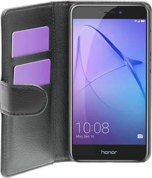 iZound Leather Wallet Case Huawei Honor 8 Lite Black