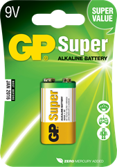 GP Super 9V Blister