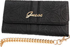 Guess Heritage Clutch Case iPhone 6/6S Plus Black