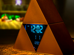 Nintendo Zelda Triforce Alarm Clock