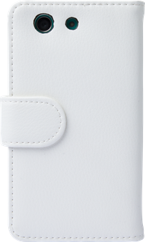 iZound Leather Wallet Case Sony Xperia Z3 Compact White