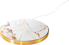 iDeal of Sweden Fashion Qi Charger Carrara Gold