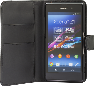 iZound Wallet Case Sony Xperia Z1 Black