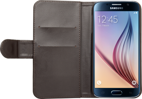 iZound Wallet Case Samsung Galaxy S6 Dark Brown