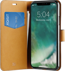 Xqisit Slim Wallet Selection iPhone XR Black