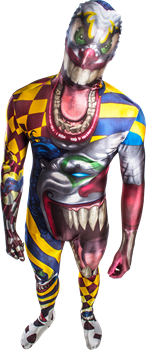Morphsuit The Clown XL
