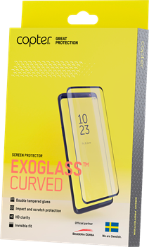 Copter Exoglass Curved Edge Glue Samsung Galaxy S20 Ultra