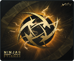 Xtrfy Mousepad Large, NiP Lightning