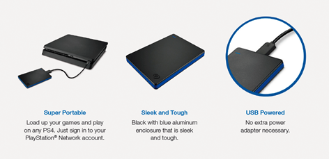 Seagate Game Drive 1TB PS4