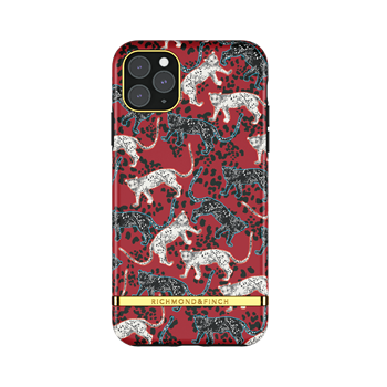 Richmond & Finch Samba Red Leopard iPhone 12 Pro