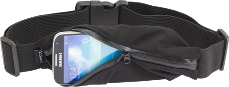 iZound Sports Waist Pouch Black