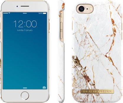 iDeal of Sweden Fashion Case iPhone 6/6S/7/8/SE Carrara Gold