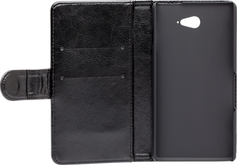 iZound Wallet Case Sony Xperia M2 Aqua Black