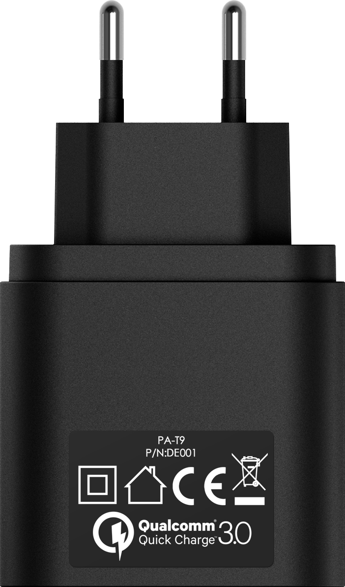 Aukey Usb Turbo Charger Pa T9 Qc30 Reiselader Med Qualcomm Quick With Charge 30