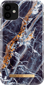 iDeal of Sweden Fashion Case iPhone XR/11 Midnight Marble
