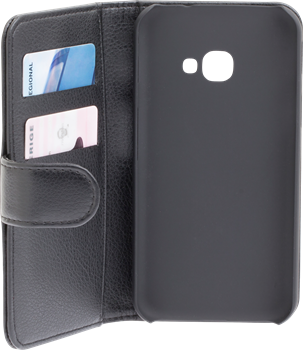 iZound Leather Wallet Case Samsung Galaxy Xcover 4 Black