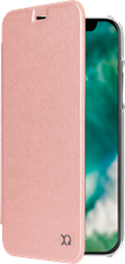 Xqisit Flap Cover Adour iPhone X/XS Rose Gold