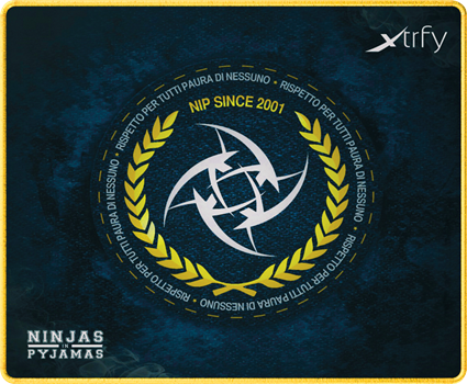 Xtrfy Mousepad Medium, NiP Italian