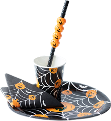 Halloween Paper Plate 8-P