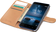Celly Wallet Case Nokia 8