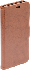 iZound Leather Wallet Case iPhone XS Max Brown