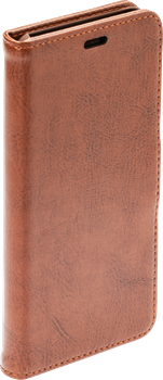 iZound Leather Wallet Case iPhone XR Brown