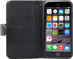iZound Leather Wallet Case iPhone 6/6S Black