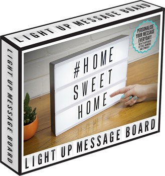 Light Up Message Board