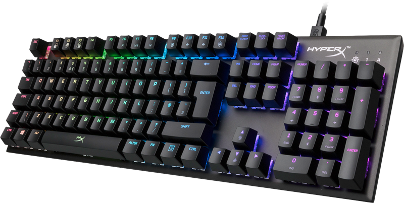 HyperX Alloy FPS RGB gamingtastatur (Kailh Silver Speed