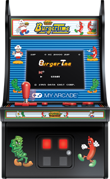My Arcade Retro Burger Time