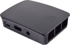 Raspberry Pi Official Case Black/Grey