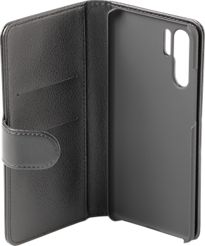 iZound Leather Wallet Case Huawei P30 Pro Black