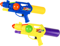 Plastic Water Gun Assorted Colours
