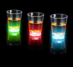 Blinkande Shotglas 3-pack