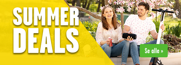Summer Deals - hete dingser for sommeren