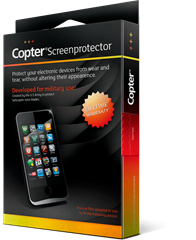 Copter Screenprotector Samsung Galaxy S8