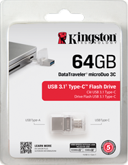 Kingston DataTraveler microDuo 64GB USB3.0
