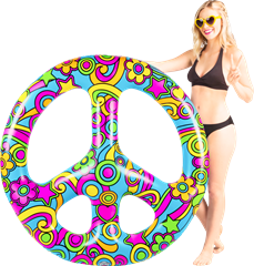 Pool Float Giant Peace Sign