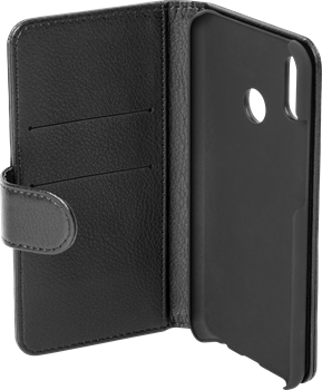 iZound Leather Wallet Case Huawei P20 Lite Black