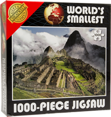 World's Smallest Puzzle 1000 bitar Machu Picchu