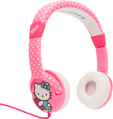 Junior Headphone Hello Kitty Pink Dots