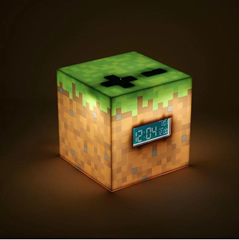 Minecraft Alarm Clock