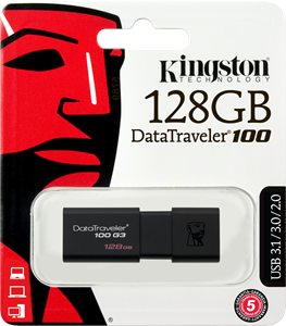 Kingston DataTraveler 128GB USB 3.0