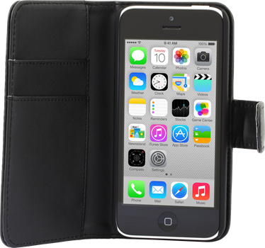 iZound Wallet Case iPhone 5C Black