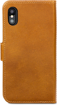 D.Bramante Lynge iPhone X/XS Golden Tan